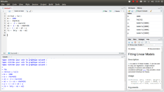 RStudio free and open source IDE for R