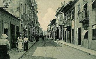 Rua da Junqueira - Junqueira in 1919.
