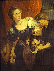 Portrait of Judith with the Head of Holofernes