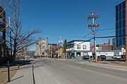 Rue Marquette, Sherbrooke, Looking towards east 20170414 1.jpg