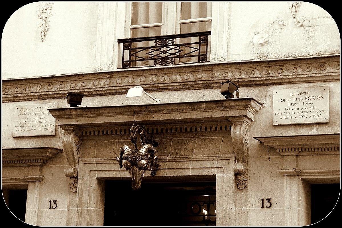 L 39 h tel wikip dia - Rue des beaux arts ...