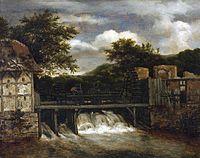 Ruisdael, Les deux moulins.jpg