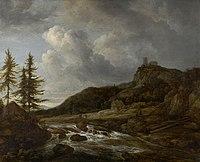 Ruisdael, Paysage montagneux avec torrent.jpg