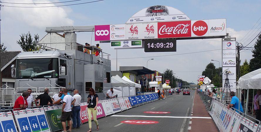 Rumillies (Tournai) - Tour de Wallonie, étape 1, 26 juillet 2014, arrivée (A07).JPG