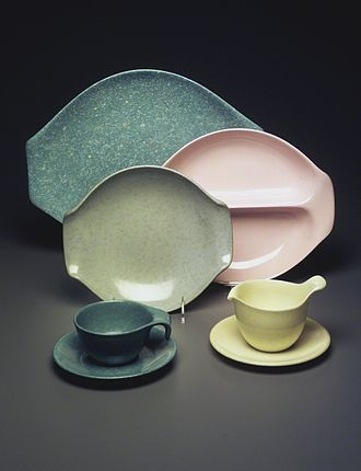 Russel Wright - Residential Pattern Serving Set, ca.1953 Brooklyn Museum