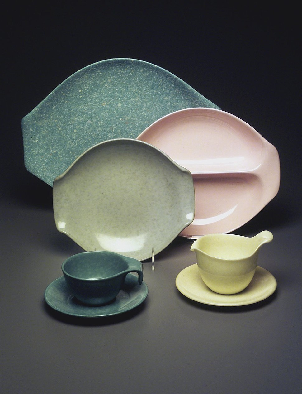 Russel Wright (American, 1904-1976). Residential Pattern Serving Set, ca.1953