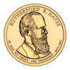 Rutherford B. Hayes $1 Presidential Coin obverse.png