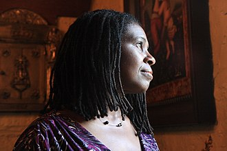 Ruthie Foster - Foster performing at The Living Room in New York City; January 24, 2007