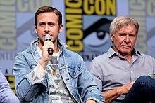 08d4f72f508 Ryan Gosling et Harrison Ford lors de la Comic Con International 2017 à San  Diego