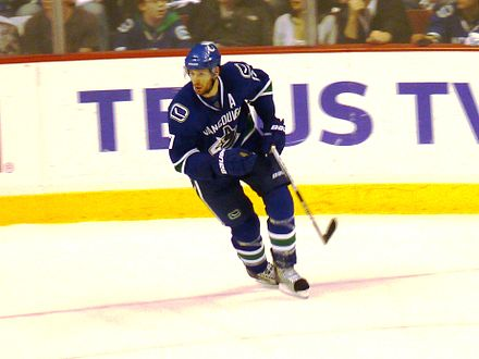 5b4fb77e3b7 Ryan Kesler with the Canucks during the 2010 Western Conference  Quarterfinals. Kesler spent the first