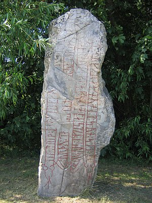 Runestones at Aspa - The runestone Sö Fv1948;289.