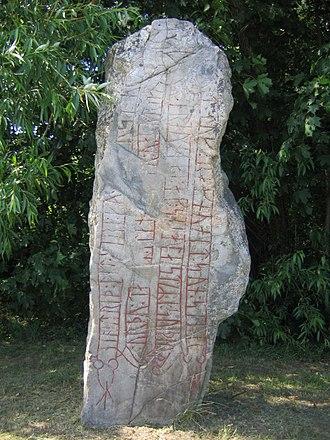 Runestones at Aspa - The runestone Sö Fv1948;289.