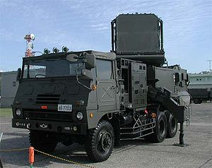 JASDF Fire Control Systems vehicle.