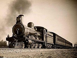 South African Class 6B 4-6-0 - Image: SAR Class 6B (4 6 0)