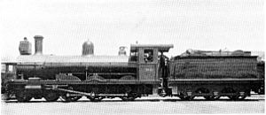 South African type YB tender - Type YB tender on CGR 6th Class of 1893