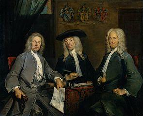 Three directors of the Amsterdam Surgeon's guild