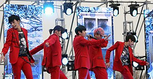 B1A4 - B1A4 performing live for SBS The Music Trend in 2012
