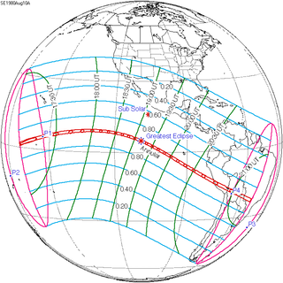 Solar eclipse of August 10, 1980