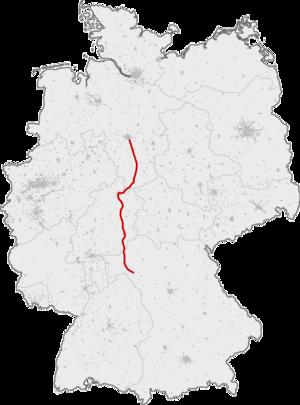 Hanover–Würzburg high-speed railway - Image: SFS Hannover Wuerzburg