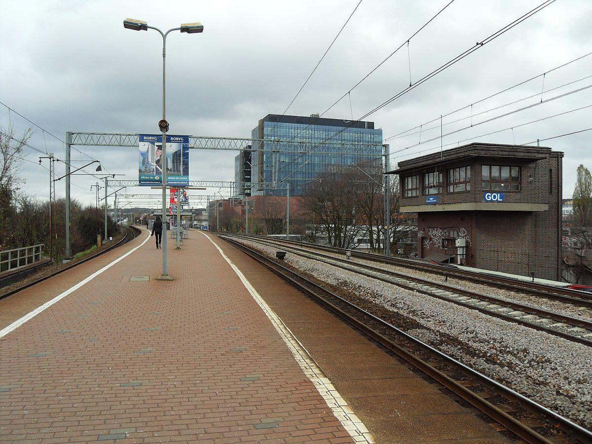 Gdańsk Przymorze-Uniwersytet railway station - Wikipedia