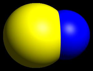 Nitrogen monosulfide - Image: SN CRC IR dimensions CM 3D SF