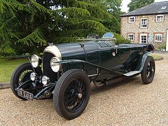 W. O. Bentley - Dr Benjafield's 3-litre