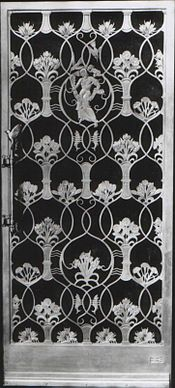 SS Queen Mary. Long Beach California. Private Dining Room Door. 1934.jpg