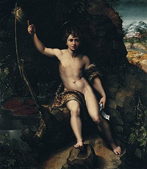 Liechtenstein Museum - Image: ST JOHN THE BAPTIST IN THE WILDERNESS LIECHTENSTEIN. THE PRINCELY COLLECTIONS