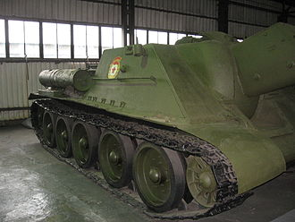 Guards unit - Image: SU 122 Kubinka 10