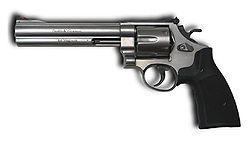 A Modern Smith & Wesson Revolver (Model 629)