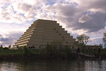 The Ziggurat Building in the city of West Sacr...