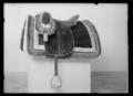 Sadel, engelsk sadel, 1800-1850 - Livrustkammaren - 44448.tif