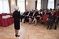 Saeimas priekšsēdētāja piedalās Latvijas simtgadei un Satversmes pieņemšanas 96.gadadienai veltītajā pasākumā Satversmes tiesā (39570499764).jpg