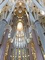 Sagrada Familia interior over altar.jpg