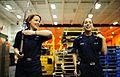 Sailors practice rifle handling aboard USS George H.W. Bush. (8456178092).jpg