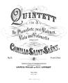 Saint-Saëns - Quintette avec piano op14 titre.png