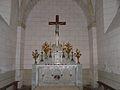 Saint-Sauveur (Dordogne) église autel.JPG