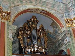 Saint Anne church in Lubartów – Pipe organs - 02.jpg