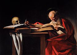 Michelangelo Merisi da Caravaggio: Saint Jerome Writing