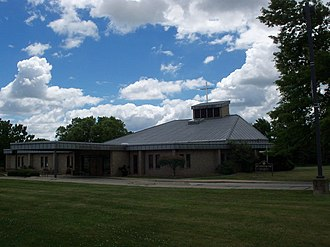 Streetsboro, Ohio - Saint Joan of Arc Church on Route 14 was built in 1987