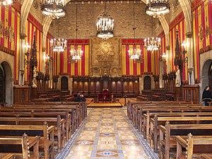 Salón de Ciento. Ayuntamiento de Barcelona