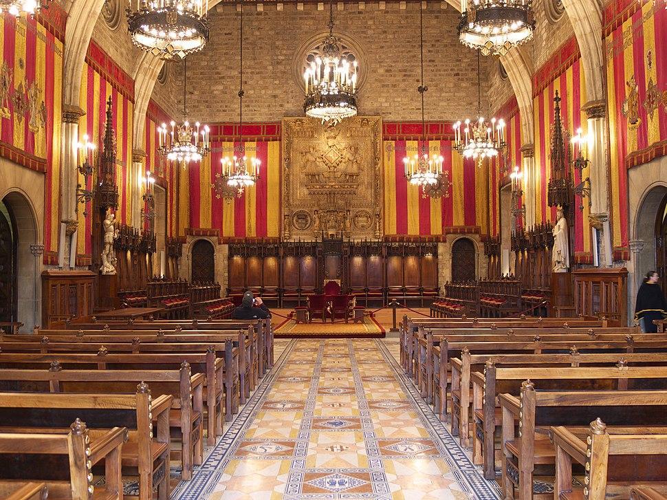 Sal%C3%B3n de Ciento. Ayuntamiento de Barcelona