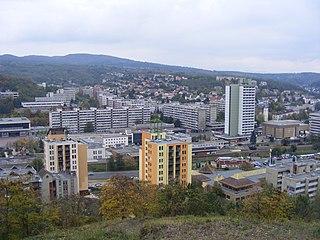 Salgótarján City with county rights in Nógrád, Hungary