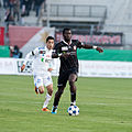 Salim Khelifi, Sekou Junior Sanogo - Lausanne Sport vs. FC Thun - 22.10.2011.jpg