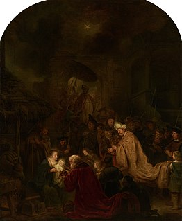 <i>Adoration of the Magi</i> (Salomon Koninck) painting by Salomon Koninck