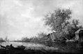 Salomon van Ruysdael - River Scenery - KMS1527 - Statens Museum for Kunst.jpg