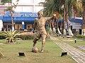 Salt Lake Stadium, Vivekananda Yuba Bharati Krirangan (VYBK)- Kolkata - IRCTC 2017 (22).jpg