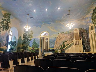 Degrees of glory - The telestial room of the Salt Lake Temple