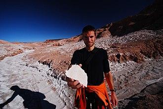 The Amazing Race 23 - Before teams heading to Santiago, the Detour in Atacama Desert revolved around the region's salt mining industry.