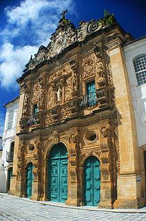 Church of the Third Order of Saint Francis 18th-century church in Salvador, Bahia